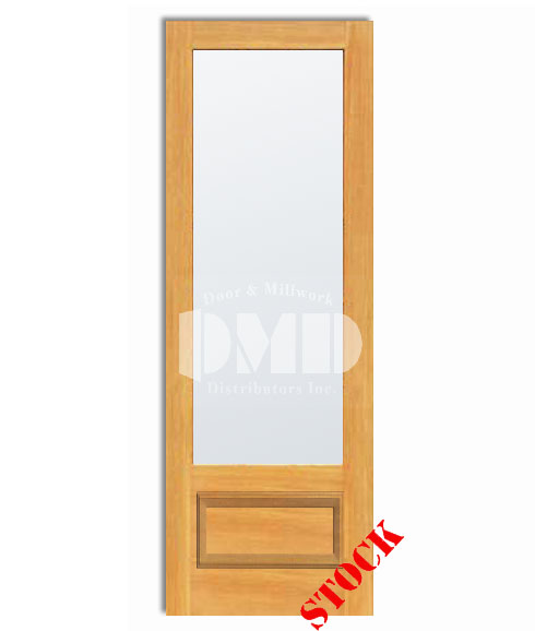 1 lite french frosted glass bottom panel 3 4 pine 8 39 0 96 door and millwork distributors for 5 panel frosted glass interior door