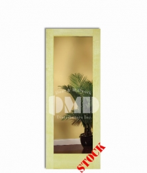 1 lite clear glass poplar 6-8 interior wood door dmd chicago wholesale distributor