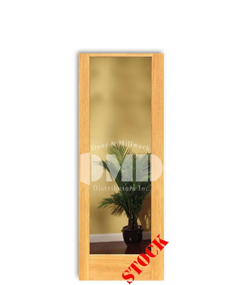 1 Lite French Clear Glass Pine 6-8