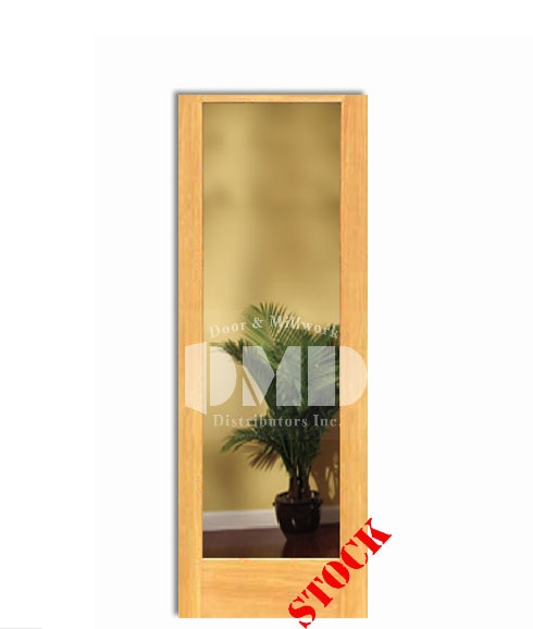 1 Lite French Clear Glass Pine 7-0