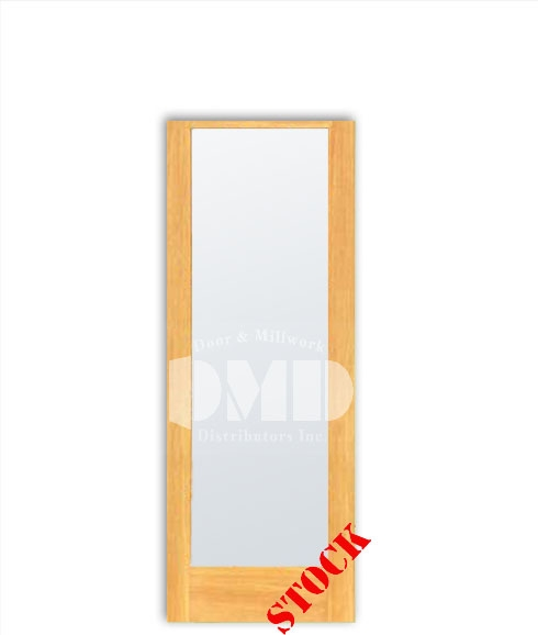 1 Lite French Frosted Glass Pine 6-8