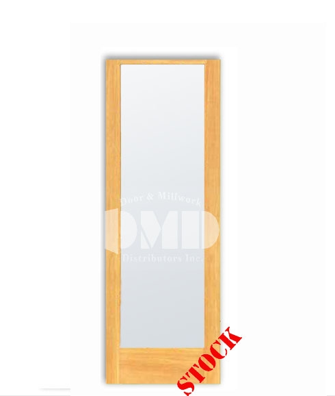 1 Lite French Frosted Glass Pine 7-0