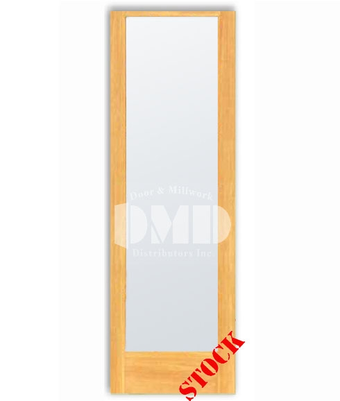 1 Lite French Frosted Glass Pine 8-0