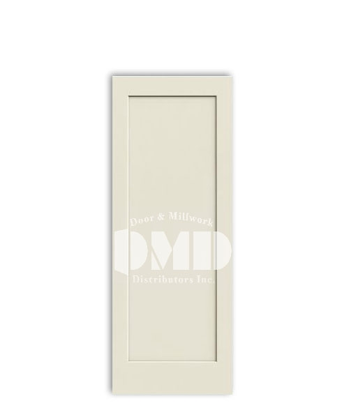 1 panel flat door madison from jeld-wen primed interior doors dmd chicago wholesale distributor