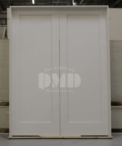1 Panel Flat Shaker Style Primed 6 8 Quot 80 Quot Door And