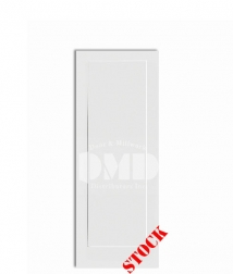 1-panel-flat-shaker style primed interior door dmd wholesale distributor