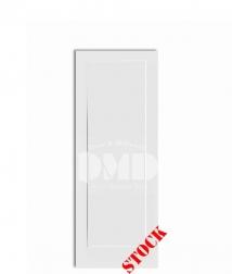 1-panel-flat-shaker style primed interior door dmd wholesale distributor