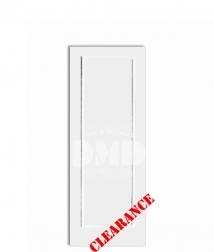 1-panel-flat-raised primed interior door chicago wholesale distributor dmd