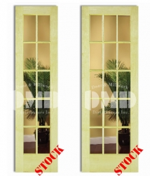 10 15 lite clear glass poplar 7-0 interior wood door dmd chicago wholesale distributor