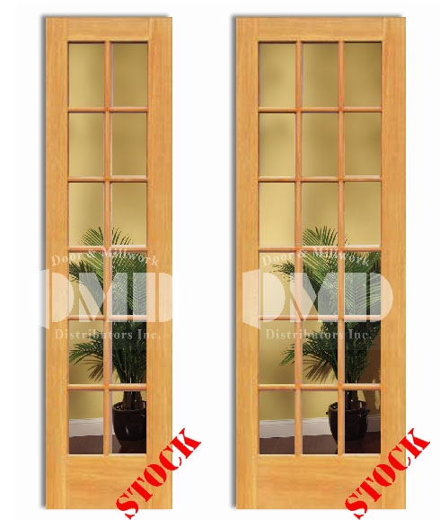 12 18 lite french clear glass pine 8 39 0 96 door and for 96 inch exterior french doors