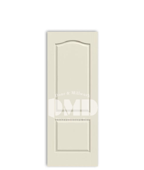 2 panel arch camden door from jeld-wen primed interior dmd chicago wholesale distributor