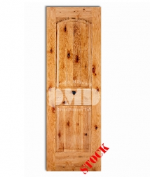 2 panel arch knotty alder 8-0 wood interior door dmd chicago wholesole distributor