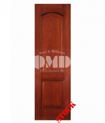 2 panel arch mahogany 8-0 wood interior door dmd chicago wholesale distributor