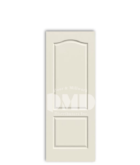 2 panel arch princeton door from jeld-wen interior primed doors dmd chicago wholesale distributor