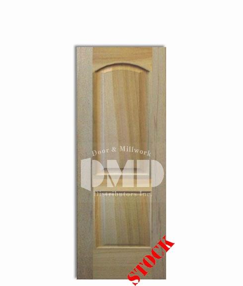 2 Panel Arch Top Poplar 6'-8