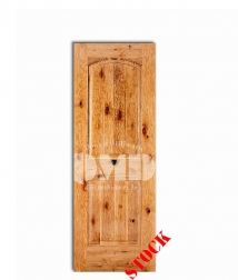 2 panel arch knotty alder v-groove 8-0 wood interior door dmd chicago wholesole distributor