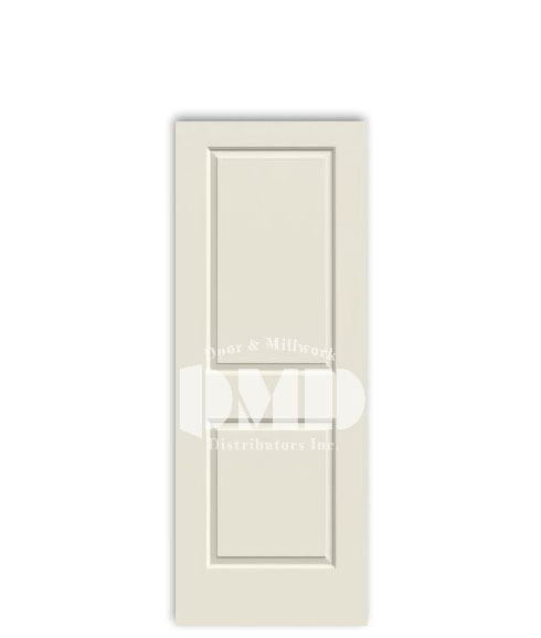 2 panel raised door cambridge from jeld-wen interior primed doors dmd chicago wholesale distributor