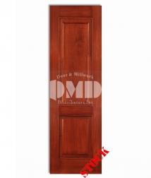 2 panel square mahogany 8-0 wood interior door dmd chicago wholesale distributor