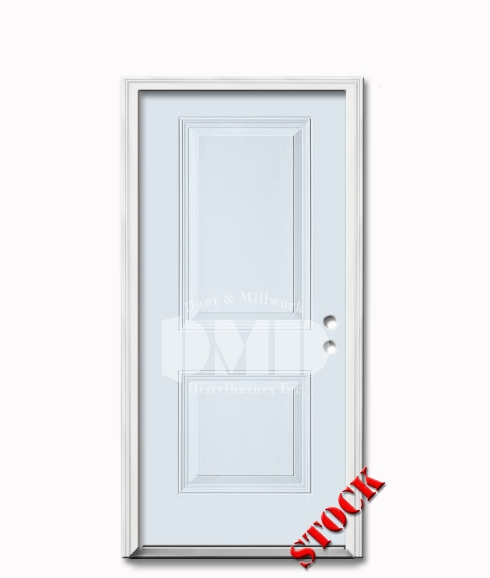 2 panel square steel exterior door 6-8 dmd chicago wholesale distributor