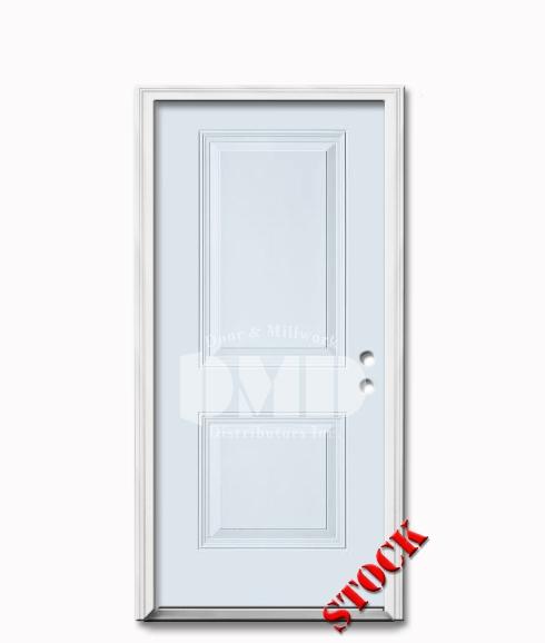 2 panel square steel exterior door 6-8 dmd chicago wholesale distributor