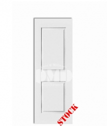 2 panel square carrrara solid core primed interior door dmd chicago wholesale distributor 7-0