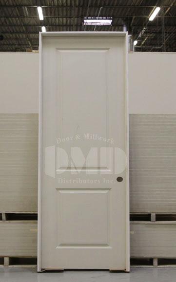 2 Panel Square Top Solid Core Carrara 8 0 Quot 96 Quot Door