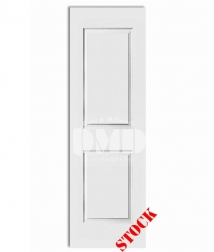2 panel square carrrara solid core primed interior door dmd chicago wholesale distributor 8-0