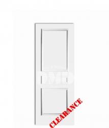 3 panel raised solid core primed interior door dmd chicago wholesale distributor