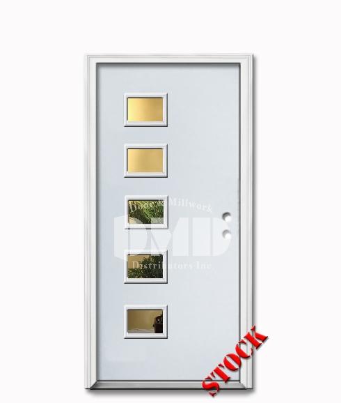 Steel exterior entry doors door and millwork for Flush exterior door