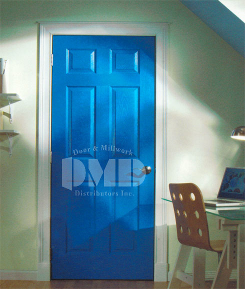 6 Panel Hollow Core Colonist Smooth 6 8 Quot 80 Quot Door And