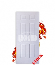 6 panel steel b label 6-8 fire rated door dmd chicago wholesale distributor