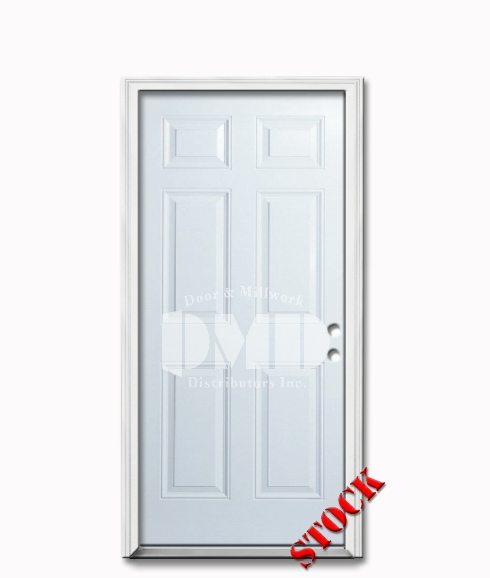 6 panel steel exterior door 6-8 dmd chicago wholesale distributor
