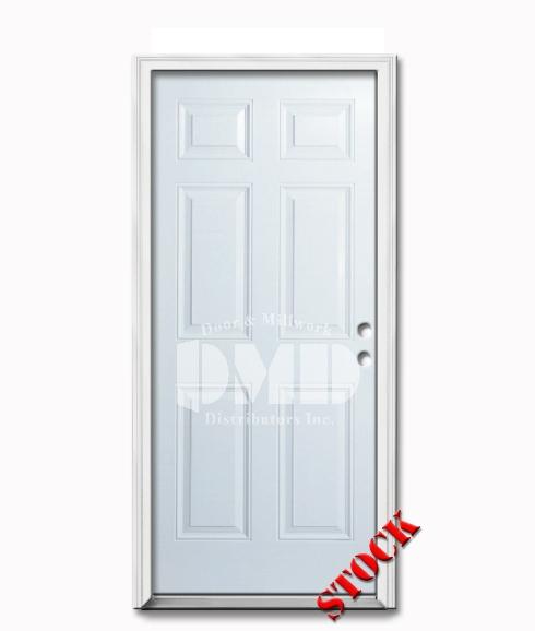 6 Panel Steel Exterior Door 7-0