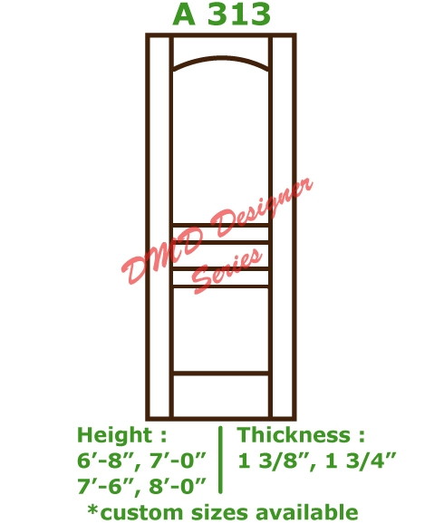 Primed Mdf Stile And Rail Custom Interior Doors Dmd Designer