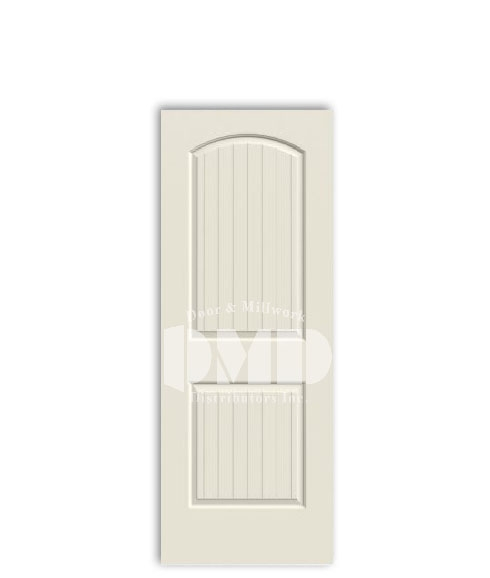 2 panel arch top santa fe door from jeld-wen interior primd doors dmd distributors wholesale chicago