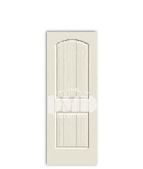 2 panel arch top santa fe door from jeld-wen interior primd doors dmd distributors wholesale chicago