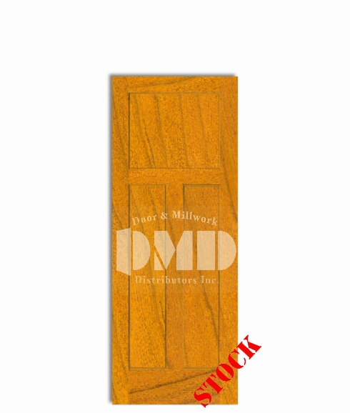 3-panel-cherry mission style interior wood door dmd chicago wholesale distributor