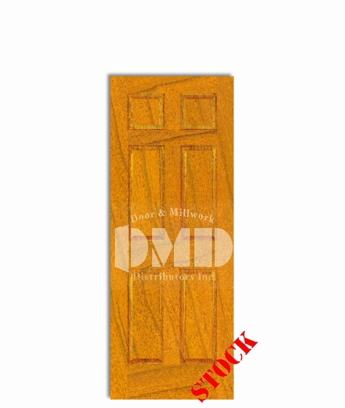 6-panel-cherry interior wood door dmd chicago wholesale distributor