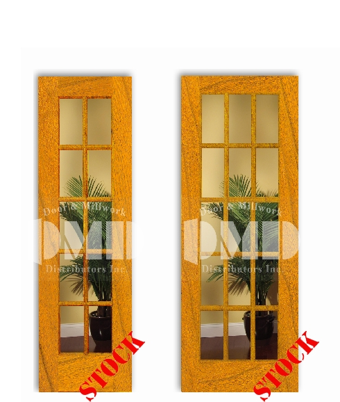 10-15-lite-clear-glass-cherry interior wood door french dmd chicago whoesale distributor