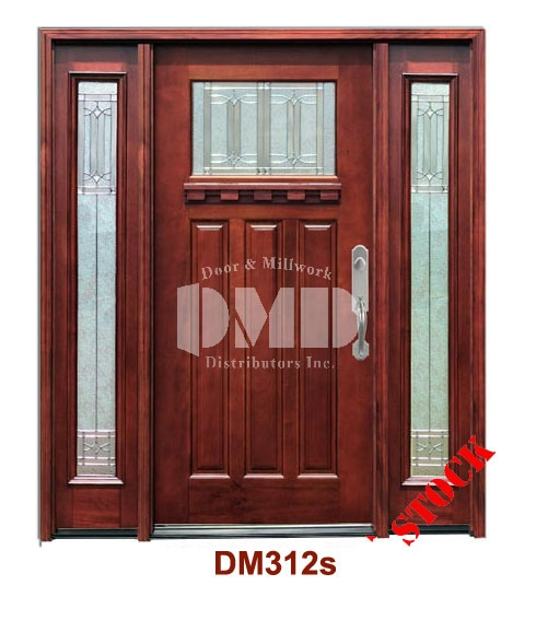 DM312s Mahogany Exterior One Lite Craftsman Diablo Zinc Caming dmd chicago wholesale distributor