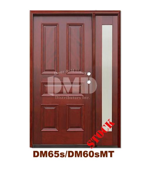 Dm65sdm60smt 5 Panel Exterior Wood Mahogany Door Door And