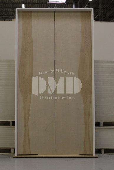Flush Birch Solid Core Commercial Door 6 8 Door And Millwork Distributors Inc Chicago