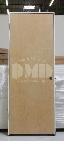 Flush Birch Solid Core Commercial Door 6 8 Door And