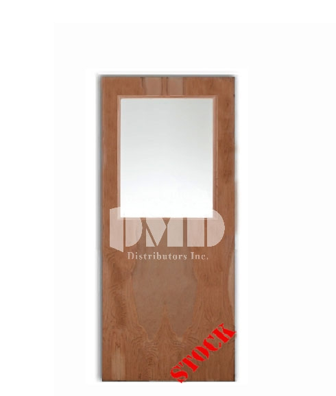 flush birch custom glass door - dmd chicago wholesale distributor