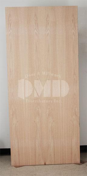 Flush Oak Solid Core Commercial Door 6 8 Door And
