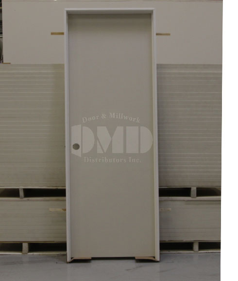 Flush primed solid core 6 39 8 80 door and millwork for Solid flush door