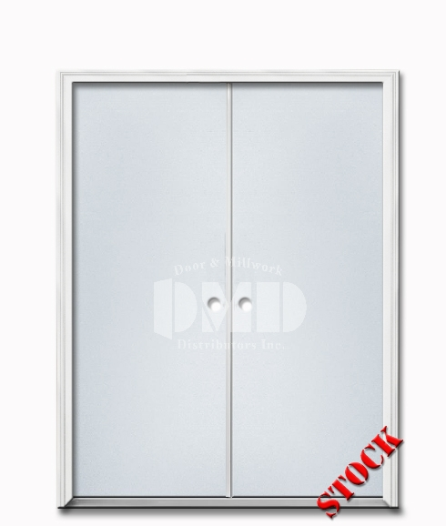 Flush Steel Exterior 6-8 Double Door