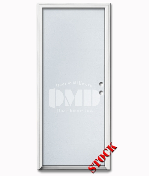 Flush Steel Exterior Door 8-0