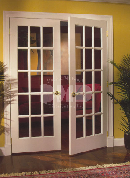 15 lite french clear glass primed 6 39 8 80 door and for 15 lite french door