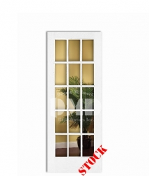 15-lite-clear-glass-primed interior door chicago illinois wholesale distributor dmd